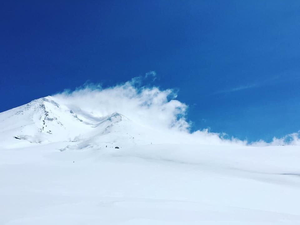 旭岳スノーボード 旭岳